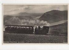 Snowdon Mountain Railway Vintage RP Postcard  224a