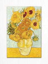 Vincent van Gogh Sunflowers Painting Fridge Magnet