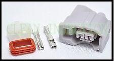 Honda Civic Acura RSX K20 K24 R18 RDX 410cc Denso Fuel Injectors clips connector