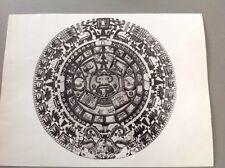 PHOTO MEXIQUE : CALENDRIER AZTÈQUE - Format 24x18cm