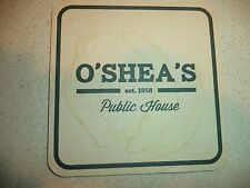 O'SHEA's Public House Beer Coaster! Louisville, KY!  Used