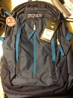 New!! Jansport Tilden Blue Backpack With 3L Hydration Sleeve!!!