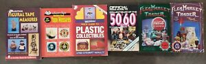 6 Collector Books On Figural & Adv Tape Measures, 50-60s Plastic Coll. & others