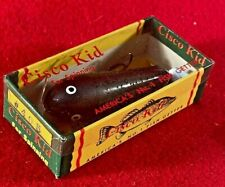 F2) Vintage Cisco Kid For Spinning #405 Wallsten Tackle Fishing Lure w Box Nos