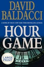 Hour Game (Large Print)-ExLibrary