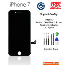 BLACK Original iPhone 7 Retina LCD Digitiser Touch Screen Replacement