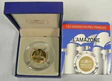 """2013 France 50 Euro 1/4 oz Gold Proof Coin """"L'Amazone"""" Uncirculated MINTAGE 1000"""