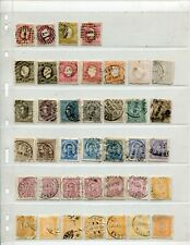 Large accumulation of ~2000 stamps from Portugal 1860's on