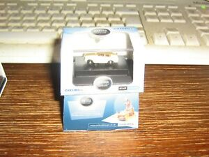OXFORD DIE-CAST - N gauge - FORD ANGLIA - IN LIGHT YELLOW WITH WHITE STRIPE