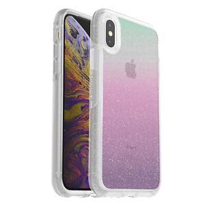 Otterbox Symmetry Glitter Case Apple iPhone X XS Shock Proof Heavy Duty Cover