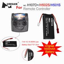 Hubsan 7.4V 1400mAh LiPo battery H501S-25 for H501S H502S H107D FPV2 Transmitter