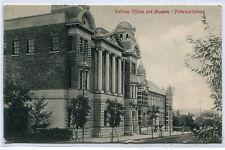 Railway Offices & Museum Pietermaritzburg KwaZulu Natal South Africa postcard