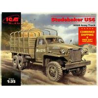 ICM 35511- 1/35 Army Truck II MB Studebaker US6 WWII 1939-1945 plastic model kit