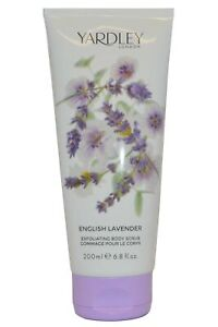 Yardley English Lavender Exfoliating Body Scrub 200ml Gommage pour le Corps