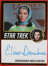 STAR TREK TOS 50th, ELINOR DONAHUE as Nancy Hedford, VERY LIMITED Autograph Card