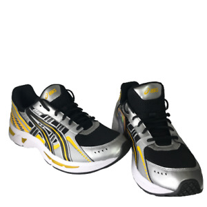 Asics Gel-Kyrios Safety Yellow Black Running Shoes 1021A335 Men's Sz 14 NEW