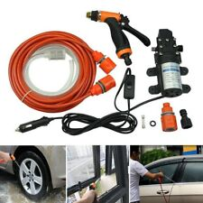 Car High Pressure Washer Wash Gun Water Spray Pump 12V Electric Cleaner Outdoor