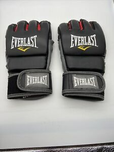 Everlast MMA Pro Style Grappling Gloves Level II Sz S/M 4 oz Black