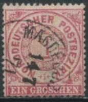 Norddeutscher Bund 1868/1869 Mi.-Nr. 16 gestempelt / o