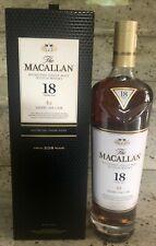 Macallan Sherry Oak Highland Single Malt 2018 Edition 18 year old Whisky 70 cl