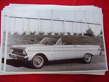 1964 FORD FALCON CONVERTIBLE  11 X 17  PHOTO  PICTURE