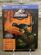 Jurassic Park World 5 Movie Collection Steelbook Blu-ray And Digital No 4K
