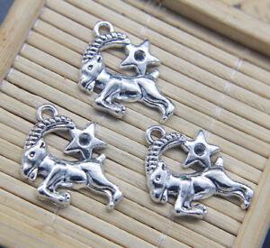 Wholesale Capricorn Constellation Charms Pendant Jewelry DIY 25*21mm