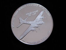 "For sale is a Boeing Employee Coin Club "" B-17 "" 1.5 oz .999 Silver Round."