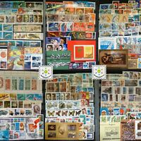 Stamp Collection Russia MNH - 200 Different Stamps in Full Sets & Singles