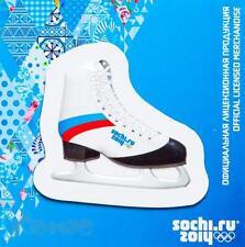 Sochi 2014 Winter Olympics Figure Skate 3D Fridge Magnet Russia