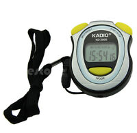 Professional Walking Running Stopwatch Sports Chronograph Digital Timer Newest