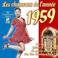 LES CHANSONS DE L?ANNÉE 1959  2 CD NEUF