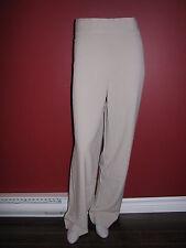 BESTOW Women's Beige Partial Elastic Waist Side Zip Dress Pant - Size 16 - NWT