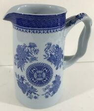 Copeland Spode Blue & White Pitcher with Spode's Fitzhugh Pattern