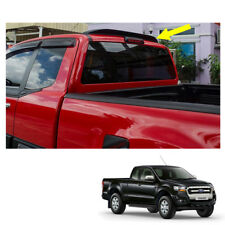 2012 - 2017 Roof Rear Spoiler Matte Black Trim 1Pc On Ford Ranger T6 Cab Pickup
