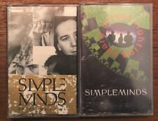 Simple Minds - Once Upon A Time / Street Fighting Years (2 Cassettes)