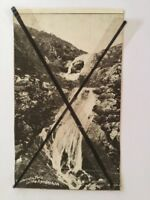 Antique vintage old photo postcard Lesmurdie Falls WA Western Mail post card