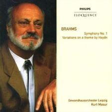 Kurt Masur - Brahms Symphony No. 1 Variations on a Theme by Haydn Australia