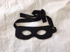 Eye mask Bandit Hero Mask Masquerade Black Party Halloween Costume