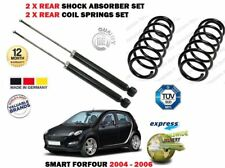 FOR SMART FORFOUR 2004-2006 NEW 2X REAR SHOCK ABSORBER SET + 2X COIL SPRINGS KIT