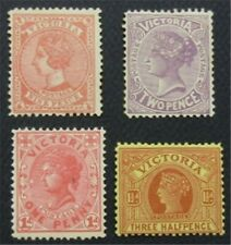 nystamps British Australian States Victoria Stamp # 194//227 MOGH  O22x1844