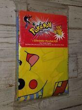 "New! Vintage 1995 Pokemon ""Pikachu"" Standard Pillowcase - FREE U.S. SHIPPING!"