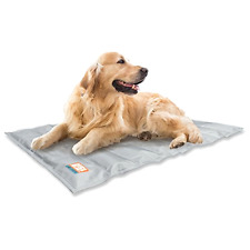 Animal Planet Dog Bed, Cooling Pet Mat, Cooling Gel Bed Pad, Gray Dog Bed 30x24""