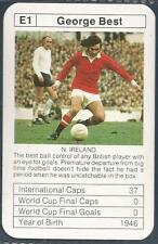Bobby CHARLTON'S Copa Del Mundo ACES-1977-78-E1-MANCHESTER United-George Best