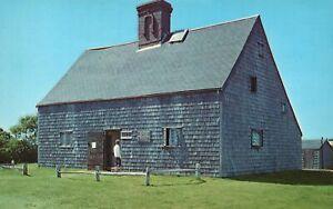 Vintage Postcard Jethro Coffin House Oldest Dwelling Ornament Nantucket, MA