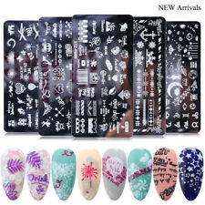 Nail Art Stamp Template Plate Various Designs