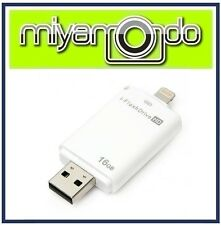 16GB i-Flash Drive OTG External Storage for iPhone iPad iPod Lightning USB Drive