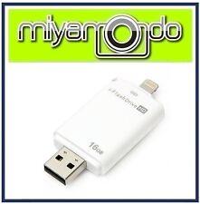 16GB i-Flash Drive OTG External Storage for iPhone iPad iPod Lightning USB Drive