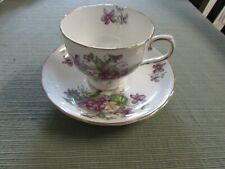 Tuscan Fine English Bone China England Tea Cup and Saucer Set