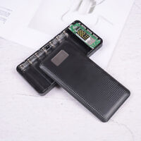 Mobile power bank case diy kit battery charger box 5V 2.1A 3USB 7X USB 18650I JC